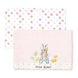奇哥 花園比得兔 乳膠枕/枕頭(附枕頭套)(粉色)