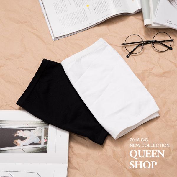 Queen Shop【01041425】無縫平口小可愛 長短版兩色售 特價 *預購*