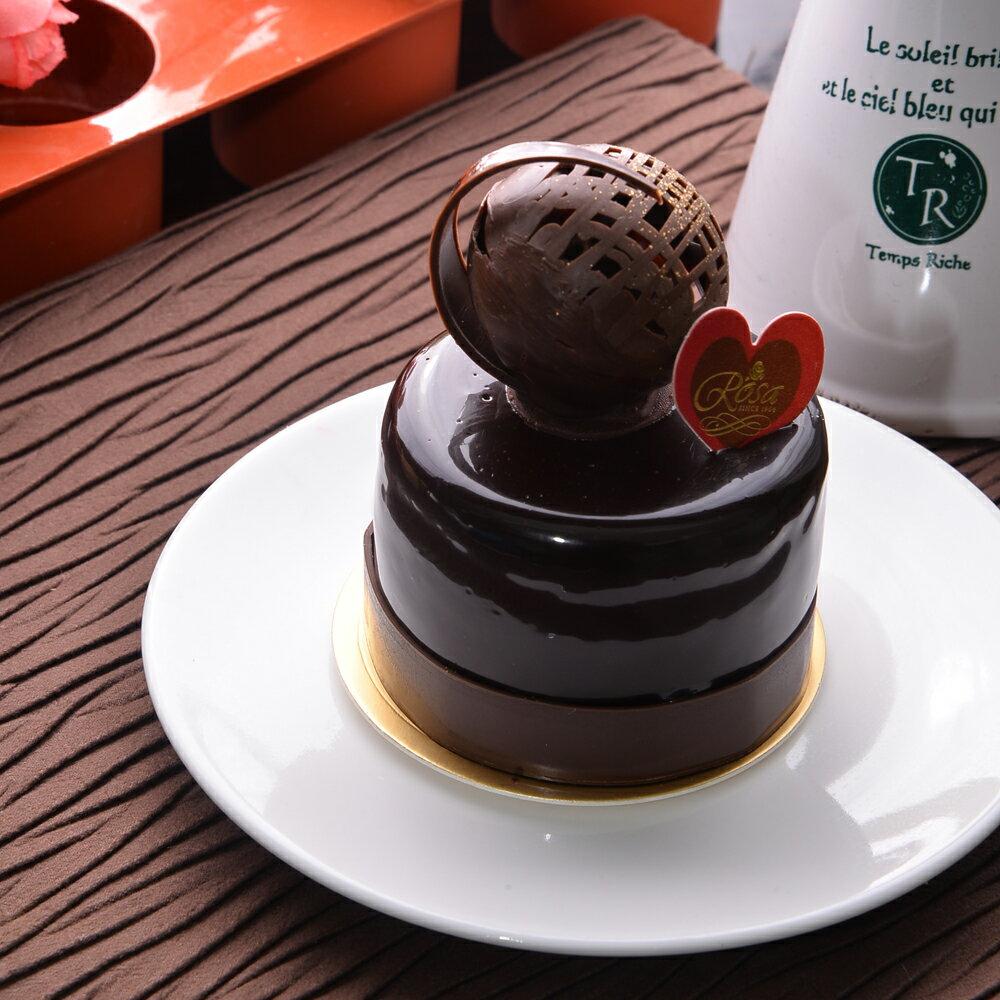 【羅撒蛋糕】巧克力慕斯蛋糕|【熱戀】|冷藏法式西點★樂天歡慶母親節滿499免運