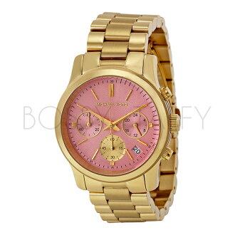 MK6161 MICHAEL KORS 時尚華麗 三眼計時 中性手錶 腕錶
