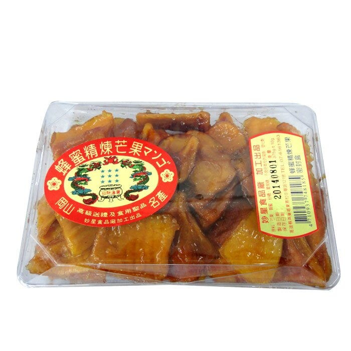 《燕巢 妙星》蜂蜜精煉芒果 300g【康鄰超市】