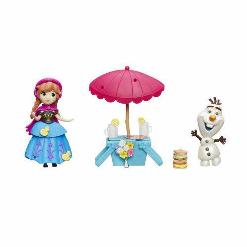 《Disney 迪士尼》冰雪奇緣 - 迷你安娜公主及情境組