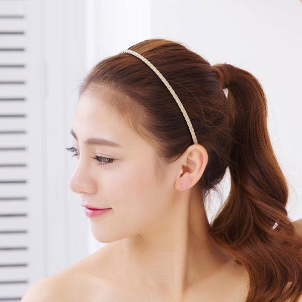 韓國製皮質細髮箍非Bottega Veneta 品牌062285海渡
