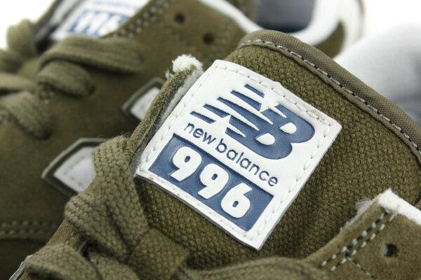NEW BALANCE 996 運動鞋 綠色 男鞋 MRL996JZ no285 2