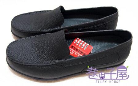 【巷子屋】Hanama悍馬 男款多功能防潮皮鞋 [885] 黑 MIT台灣製造 SGS合格 超值價$398