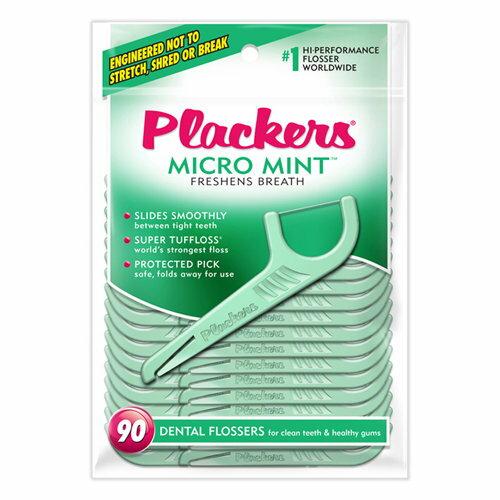 永大醫療器材行:永大醫療~美國Plackers普雷克微薄荷牙線棒90支包.每包特惠120元