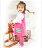 ☆Babybol☆女童冬裝保暖兩件套, 套裝包含(上衣,褲襪)【24101】 0