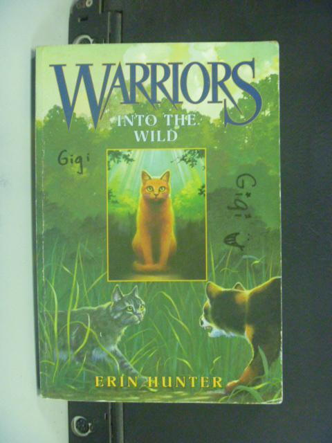 【書寶二手書T7/原文小說_GBI】Into the Wild_Hunter, Erin