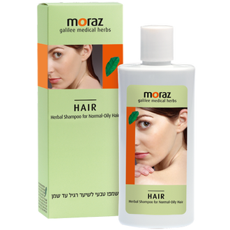 MORAZ 茉娜姿-草本舒活洗髮露/洗髮精(正常/油性髮)250ml,再送蔓越莓私密潔護露3ml
