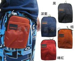 ~雪黛屋~KAWASAKI 腰包4.7吋手機超無敵耐用外掛腰包PDA袋台灣製造品質保證高單數防水尼龍布材質HKA155