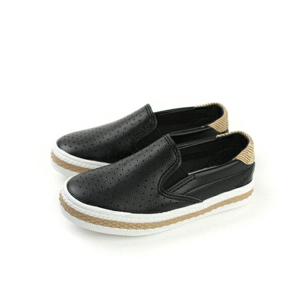 休閒鞋 黑色 童鞋 no093
