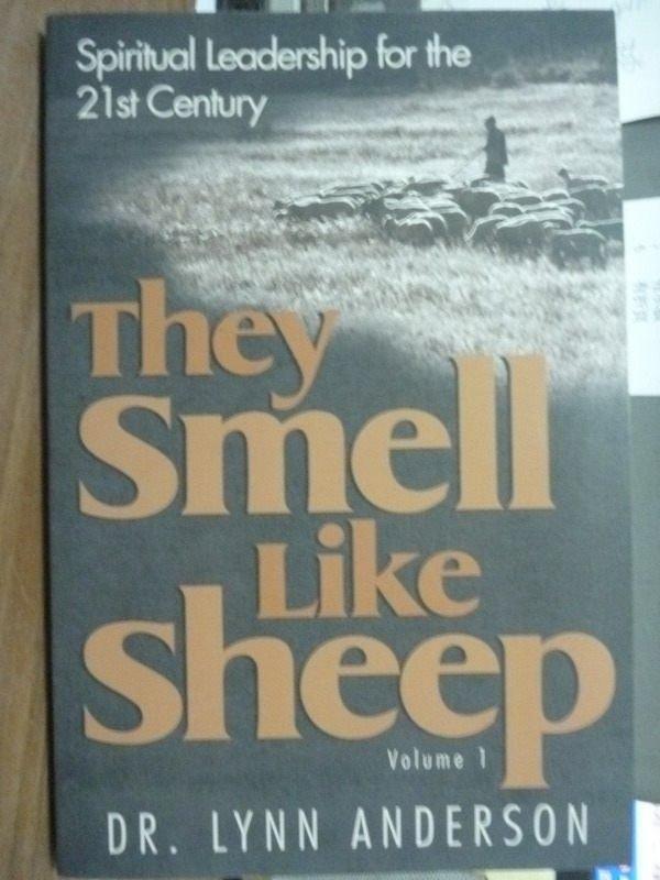 【書寶二手書T7/原文書_QKY】They Smell Like Sheep_Anderson