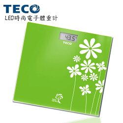 【TECO 東元】LED時尚電子體重計XYFWT503
