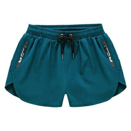 FRLO泳褲男彈力寬鬆時尚拉鍊口袋速幹泳衣全內襯泳池泡溫泉沙灘褲
