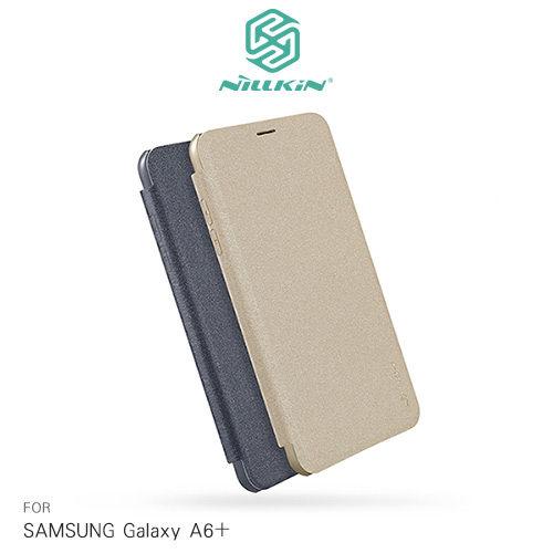 【東洋商行】SamsungGalaxyA6+(2018)NILLKIN星韻系列硬殼側翻皮套保護套手機套皮套