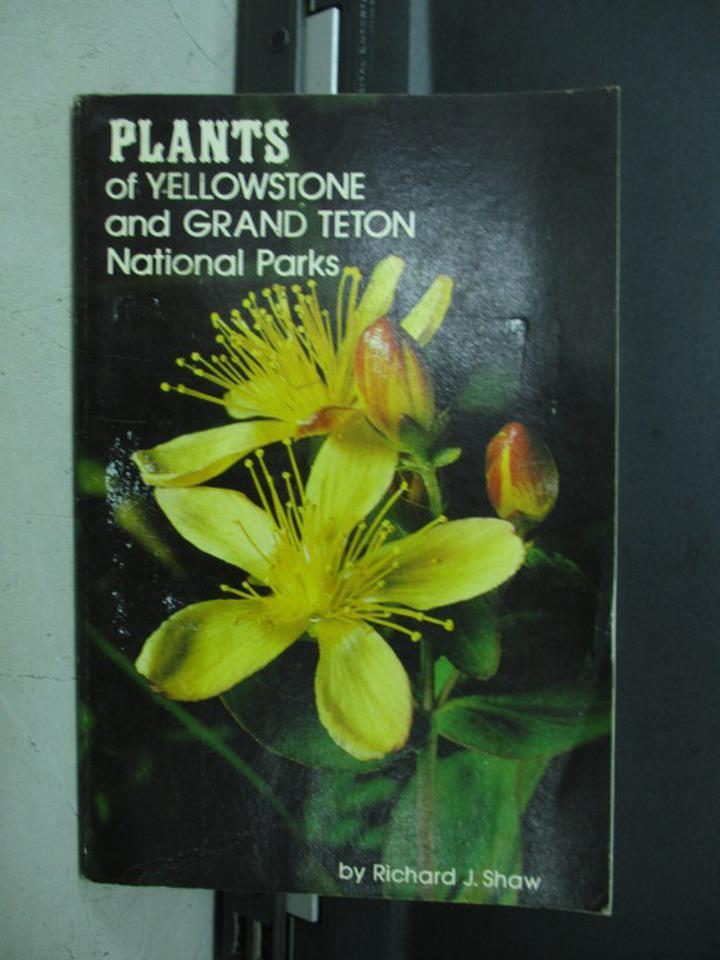 【書寶二手書T3/園藝_NDL】Plants of Yellowstone and..Parks