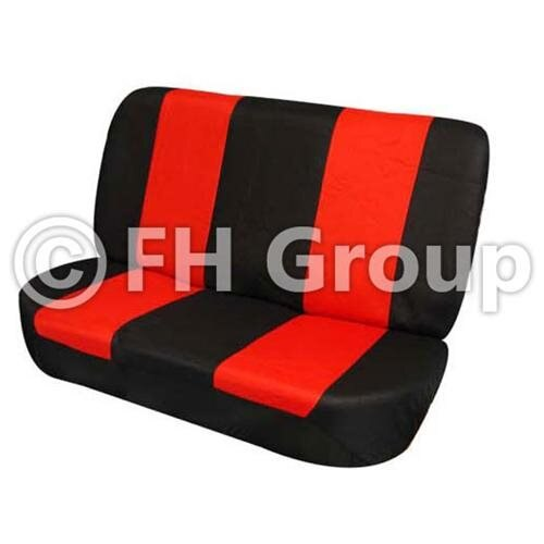 FH-FB050R010 Flat Cloth Car Seat Covers -  bench seat 0