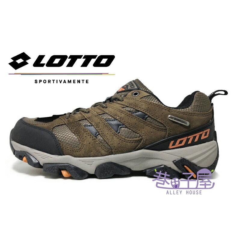LOTTO樂得-義大利第一品牌 男款郊山健行防水戶外運動鞋 登山鞋 [5691] 棕【巷子屋】