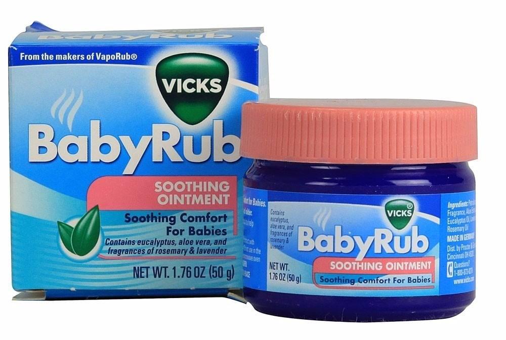 《★現貨★德國VICKS 》BabyRub 美國代購 平行輸入 溫媽媽