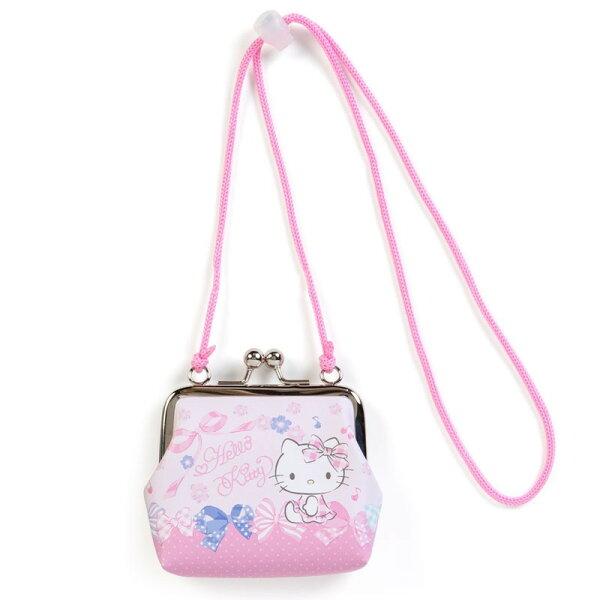 X射線【C945384】HelloKitty零錢包附繩,美妝小物包筆袋面紙包化妝包零錢包收納包皮夾手機袋鑰匙包