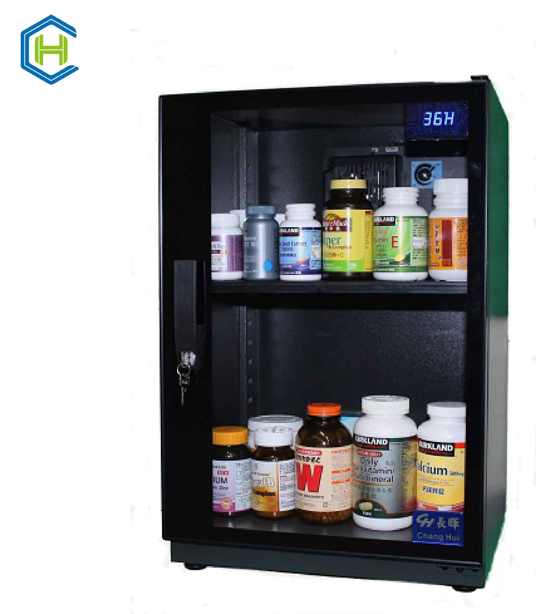 長暉CH~168S~080可調式防潮箱 晶片除濕 可放營養保健品