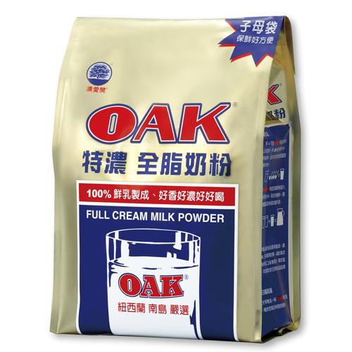 OAK特濃全脂奶粉1.4kg【愛買】