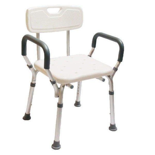 杏華 寬座扶手有靠背 洗澡椅 顏色隨機出貨★愛康介護★
