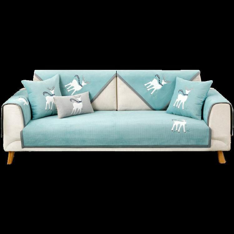 沙發罩 沙發墊四季通用防滑高檔北歐簡約現代沙發套罩全包萬能套罩蓋布巾【天天特賣工廠店】