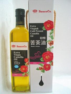味榮~天然茶花籽油(苦茶油)500ml/罐
