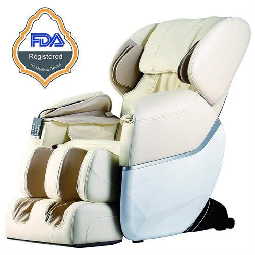 Bestmassage Full Body Zero Gravity Shiatsu Massage Chair W Heat Bm Ec77 Beige