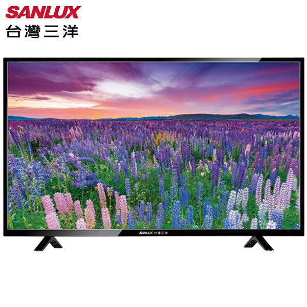 SANLUX台灣三洋SMT-49TA1電視49吋LED背光(附視訊盒)