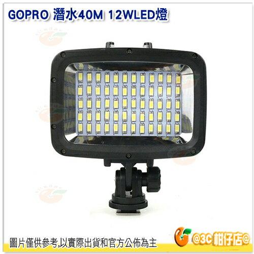 GOPRO 潛水 40M 12W ASAN125 LED燈 公司貨 攝影燈 持續燈 潛水燈 防水補光燈
