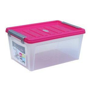 keyway聯府K010掀蓋整理箱 雙扣 換季 冬被 長褲 堆疊 收納櫃 玩具盒 書箱 分類箱 文件文具(伊凡卡百貨)