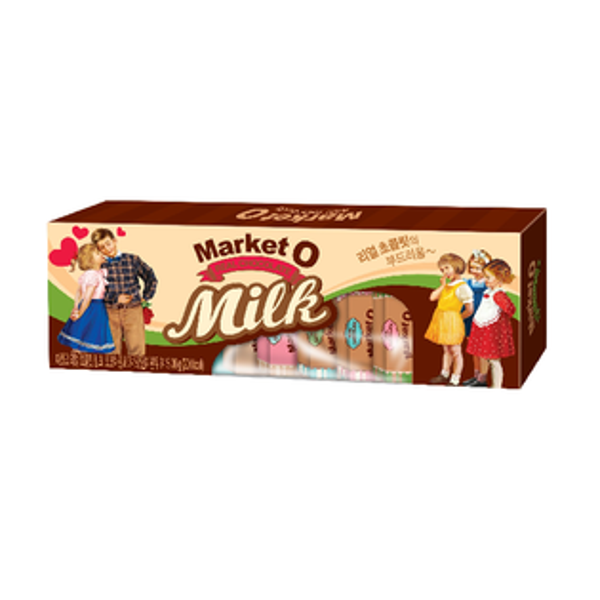MarketO經典牛奶巧克力36g