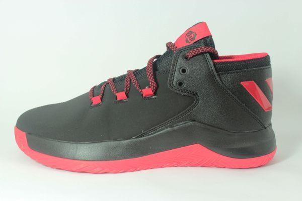 ADIDAS D Rose Menace 2 男鞋 籃球鞋 玫瑰 明星款 黑 紅 【運動世界】 BB8201
