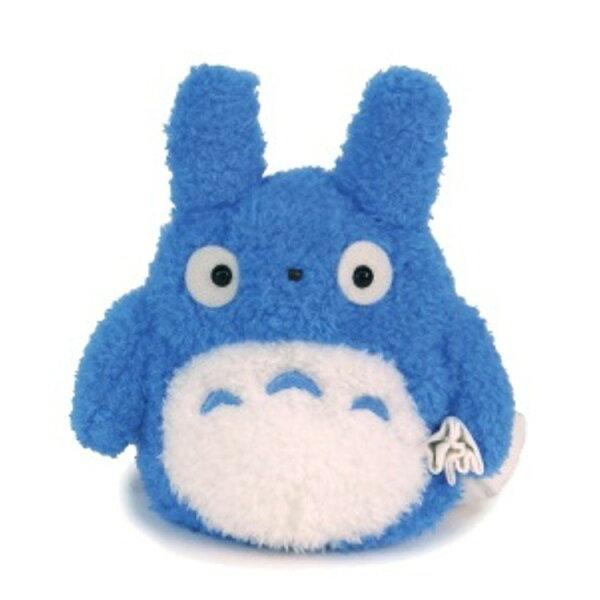 【真愛日本】18052400015輕綿柔娃S-提包袱中藍龍貓宮崎駿龍貓TOTORO娃娃玩偶藍龍貓