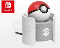 switch寶可夢系列推薦到任天堂 Switch NS HORI 寶可夢 精靈球 Plus 充電座 磁充座 座充 NSW-137【台中恐龍電玩】就在恐龍電玩 恐龍維修中心推薦switch寶可夢系列