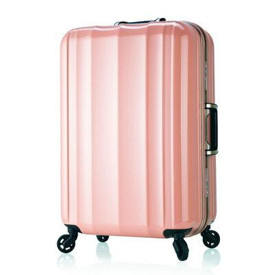 日本 LEGEND WALKER 6702-58-24吋 鋁框超輕量行李箱 公主粉