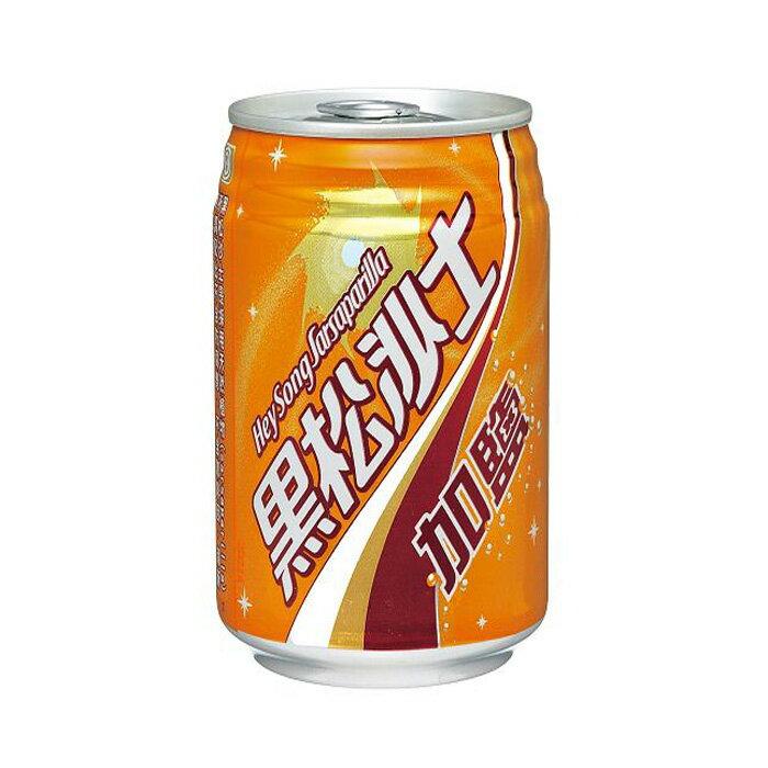 黑松 沙士-加鹽 330ml (6入)/組【康鄰超市】