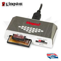 Kingston 金士頓 USB3.0 高速多合一讀卡機 (FCR-HS4)★★★ 全新原廠公司貨★★★含稅附發票★★★