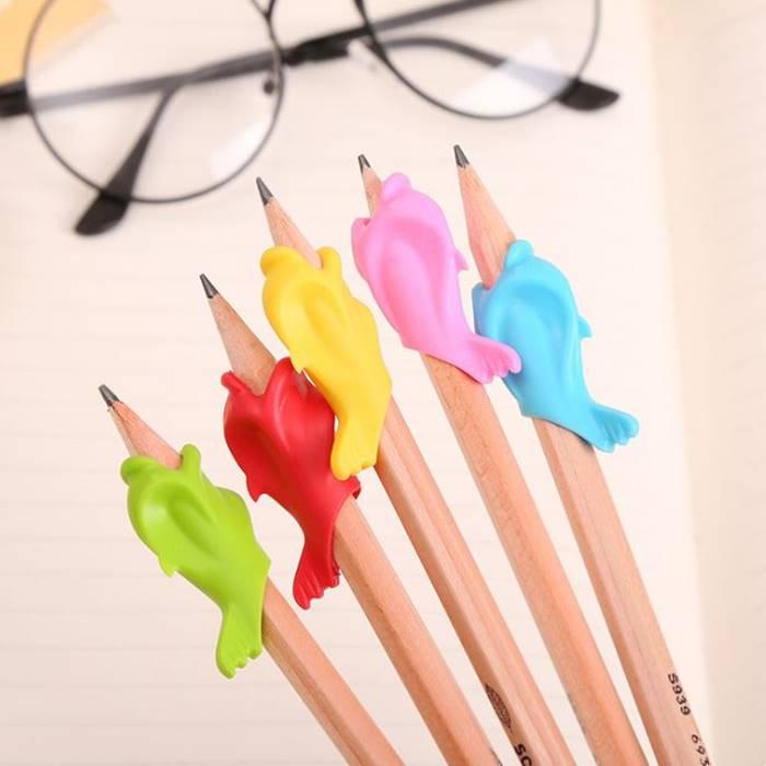 [Hare.D] 鯨魚海豚握筆矯正器 小學生握筆器 鉛筆矯正握筆 創意生活 護套 護指 書寫