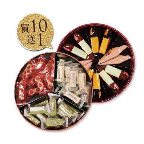 【糖村SUGAR&SPICE】【買10贈1】OH3絢璨花圓禮盒(限量)(共11盒)
