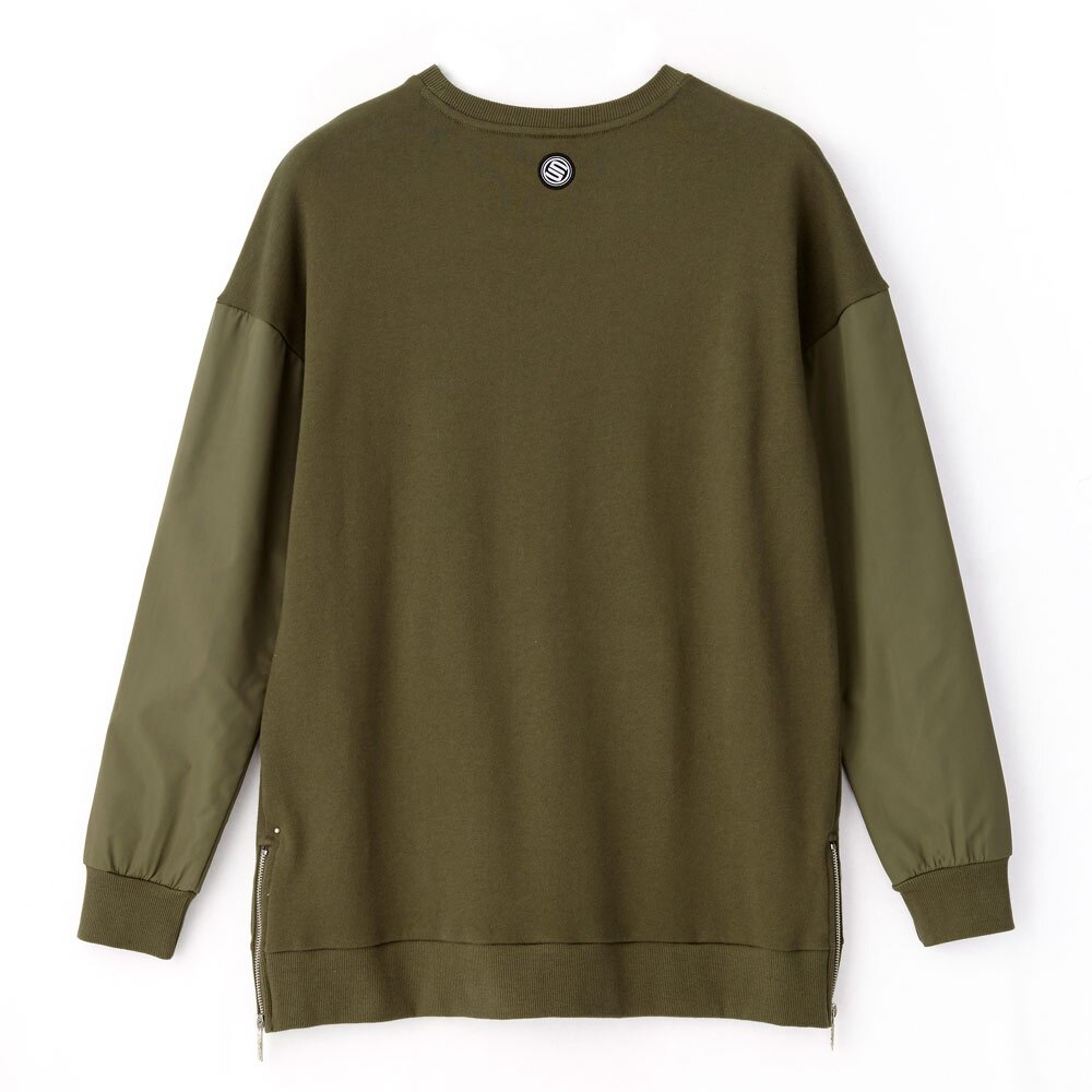 STAGE ARMOUR LS SWEATER 黑色 / 軍綠色 兩色 3