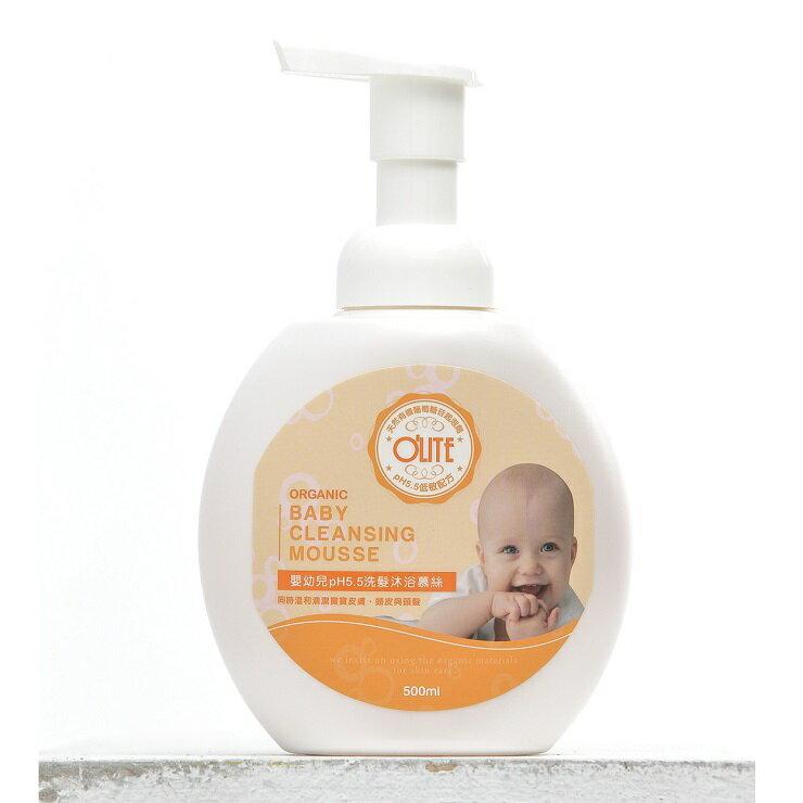 ~O  ^#27 LITE 歐莉特~嬰幼兒pH5.5洗髮沐浴慕絲 ^(500ml^)
