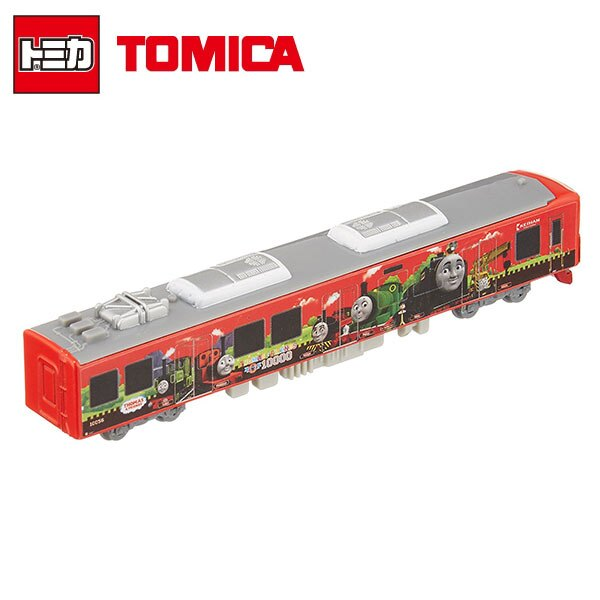 【日本正版】TOMICA 多美小汽車 湯瑪士小火車 京阪電車 2015年 NO.124 電車 玩具車 - 824923