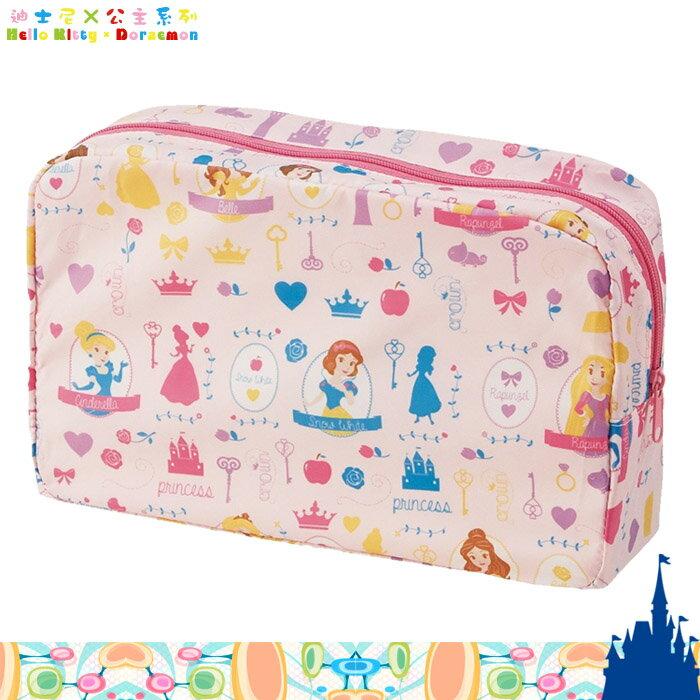大田倉   DISNEY迪士尼 公主尿布包 收納袋 輕薄款 防潑水 攜帶用 化妝包 330