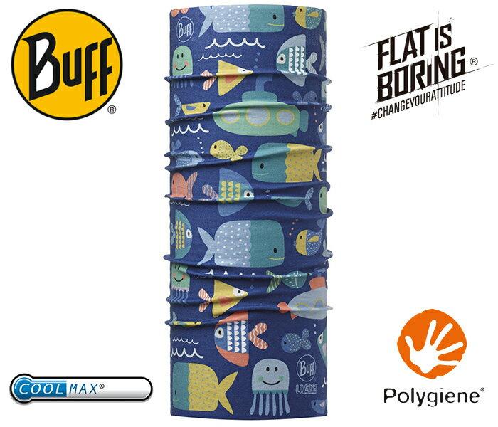 ├登山樂┤西班牙 BUFF 大海家族 寶寶 Coolmax 抗UV頭巾 # BF111486-707