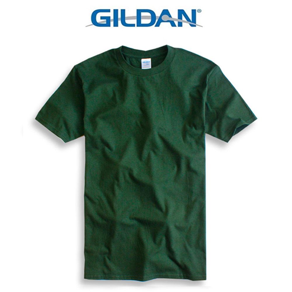 吉爾登GILDAN美國棉素T 圓領 GD美式休閒-石楠灰 2