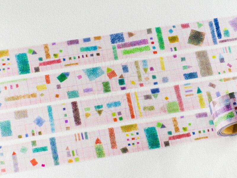 *小徑文化* | 台灣原創 | 日本進口和紙膠帶 小徑 X 夏米花園 8th. 韶光荏苒 系列  - REDCOLOR ( MTW-CH087 )
