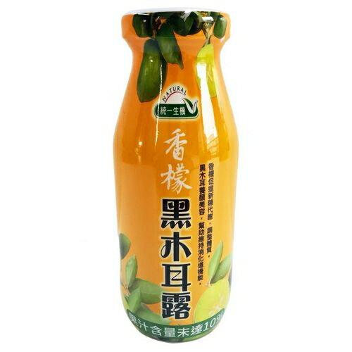 統一生機香檬黑木耳露(200mlx24瓶)限宅配